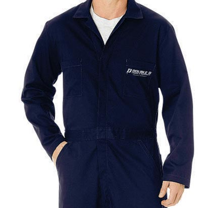 Branded overalls