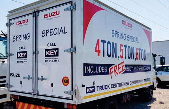 Promotional vehicle signage